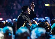 Hagen Range als Martin Luther bei der Reformationsgala im Bonner Telekom Dome am 31.10.2017. Foto: Meike Böschemeyer