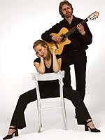 Mit dabei: Christiane Weber und Eddie Nünnig.