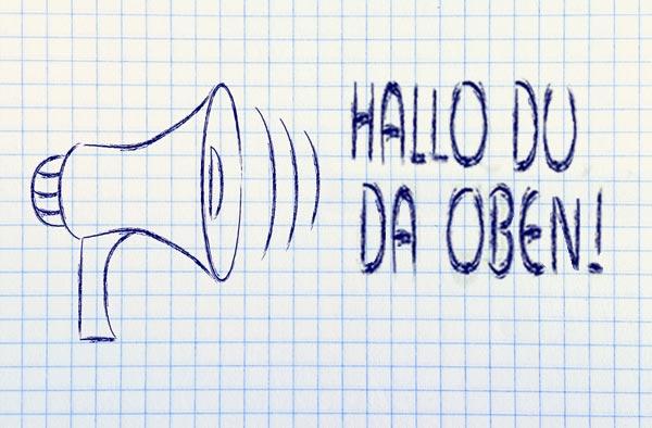 Hallo Du?