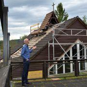 Die Bartning-Kirche will Museumsdirektor Josef Mangold in Kommern aufstellen.