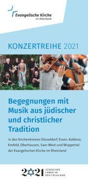 Flyer zur Konzertreihe
