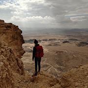 Sophia Corazolla vermisst vor allem auch die Natur Israels.