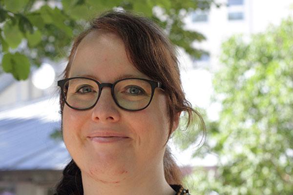 Miriam Lohrengel, Vorsitzende der Evangelischen Jugend im Rheinland, wurde in den Nominierungsausschuss gewählt. (Foto: Angela Wüsthof)