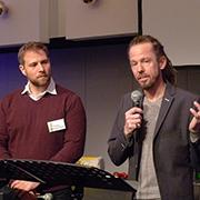 Philipp Hermannsdörfer und Andi Balsam leiteten einen Workshop über Gemeindekultur.