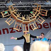Auftritt von Kids aus der Schule für Circuskinder NRW.