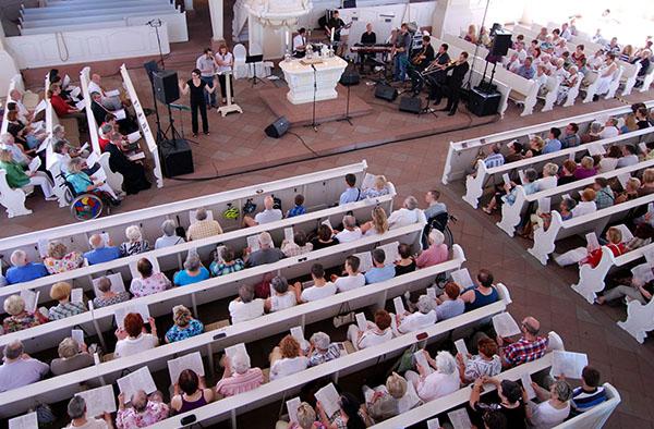 Eröffnung der Nacht der Kirchen 2014 im Saarland.