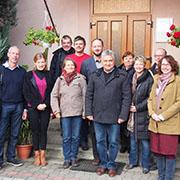 Gäste aus Diakonie und Partnerkirchen besuchten die reformierte Kirche in Transkarpatien.