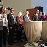Podiumsdiskussion in der Gemarker Kirche.