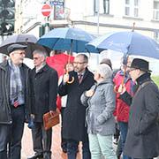 Rundgang durch Saarbrücken-Malstatt mit Mitarbeitern der Diakonie.