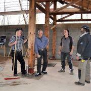 Nur einen Prozent der Holzkonstruktion mussten die Handwerker erneuern.