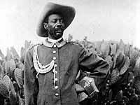 Hochachtung: Samuel Maharero (1856-1923) führte den antikolonialen Widerstand an.