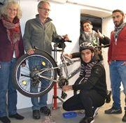Gemeinsam mehr als 130 Räder repariert