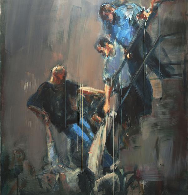 Ausschnitt aus einem der Gemälde von Walter Maria Padao. Zur Vollansicht bitte auf die Lupe klicken. Foto: www.padao.de