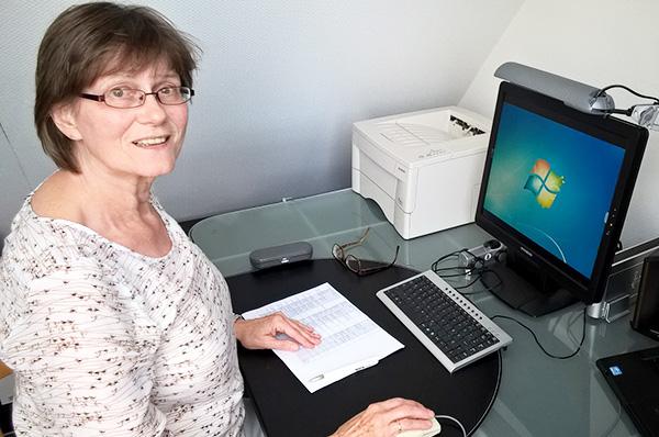 'Genau überlegt, was ich mit Freude machen will': Sigrid Weßling-Nieß.
