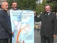 Werbung für da Friedenstreffen (Quelle: Bistum Aachen)