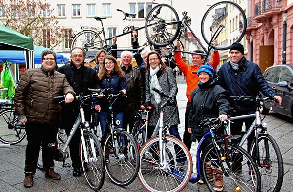 Mobil sein ohne Pkw: Die evangelische und katholische Kirche im Südwesten Deutschlands und Luxemburg starten die Aktion 'Autofasten'.