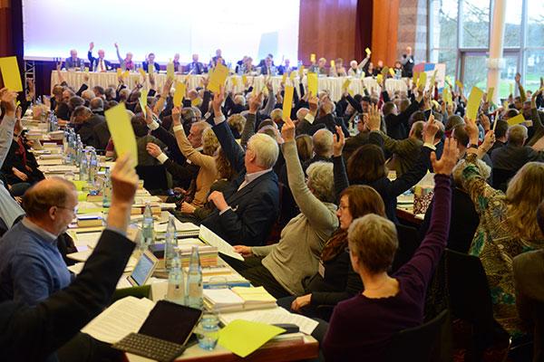 Plenarsitzung Landessynode