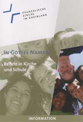 """Broschüre """"Berufe in Kirche und Schule"""""""