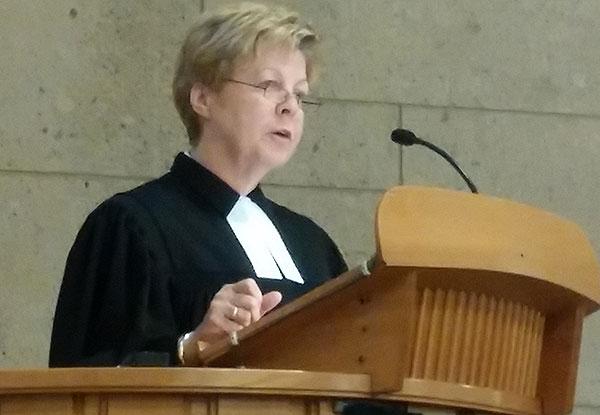 Landeskirchenrätin Christine Busch