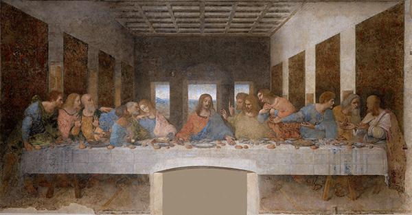 Leonardo da Vinci (1452-1519): Das Abendmahl