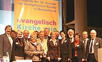 Die rheinischen Delegierten bei der EKD-Synode in Dresden.