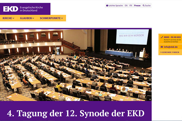 Screenshot ekd.de/synode