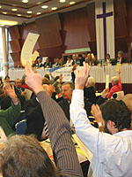 Die Landessynode entscheidet - in diesem Jahr unter anderem über das Arbeits- und Dienstrecht sowie die presbyterial-synodale Ordnung.