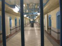 Im Gefängnis Ulmer Höh in Düsseldorf.