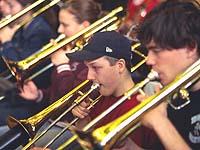Auch die Blechblasinstrumente kommen beim Rheinischen Kirchenmusikfest groß heraus.