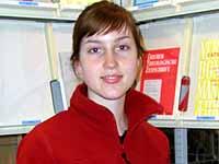 Frauen bilden heute die Hälfte der Theologiestudierenden: Tabina Höver (20).