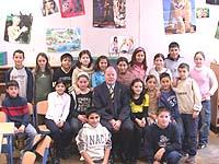 Besuch bei der Islamischen Unterweisung: die Fünftklässler in der Herbert-Grillo-Gesamtschule in Duisburg-Marxloh.