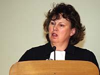 Das Himmelreich ist nahe: Petra Bosse-Huber.
