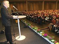 """Die """"Mangelkrankheit Hoffnungslosigkeit"""" bekämpfen: Hans-Hermann Pompe hielt die Bibelarbeit."""