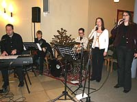 Popmusik in der Kirche: beim Eröffnungsgottesdienst zur Landessynode 2006 in der Neuenahrer Martin-Luther-Kirche.