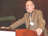 Legte den Finanzbericht vor: Oberkirchenrat Georg Immel.