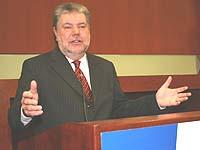 Auch über die Kirchensteuer reden: Ministerpräsident Kurt Beck.