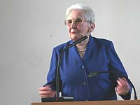 Lange Kämpfe und Krämpfe: Dr. h.c. Ilse Härter.