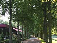 Sommerliche Atmosphäre: Tagungshotel an der Ahr.