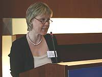 Leitete den Strukturausschuss und brachte die Spar- und Strukturvorschläge ein: Christiane Köckler-Beuser.