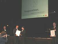 Auch Gudrun von Eicken-Jansen erhielt die Auszeichnung - für ihren Einsatz in der Gefährdetenhilfe.