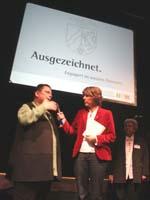 Gleichberechtigter Zugang der Ehrenamtlichen zur Leitung der evangelischen Kirche: Dr. Sabine Zoske im Interview mit Bettina Böttinger.