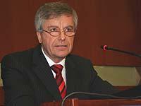 Dr. Heinz Georg Bamberger, der rheinland-pfälzische Justizminister.