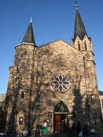 Martin-Luther-Kirche, Bad Neuenahr: Hier findet der Eröffnungsgottesdienst der Landessynode statt.