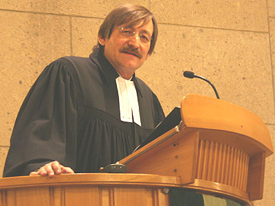 Oberkirchenrat Klaus Eberl