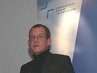 Die Menschenrechte sind in den Zehn Geboten verankert: Oberkirchenrat Wilfried Neusel.