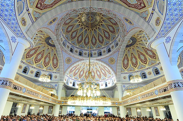 Ditib-Moschee in Duisburg.