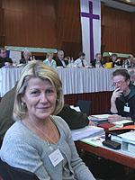 War neugierig auf die Landessynode: Susanne Degenhardt.