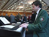 Eine Zugabe wollten die Synodalen vom Jazz-Ensemble des Landespolizeiorchesters Nordrhein-Westfalen.
