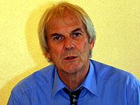 Wer geigt, wirft keine Steine: Dr. Georg Dürr.