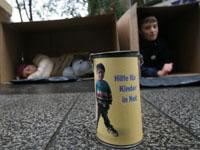 Kinder sammeln für arme Kinder, ein konkretes Projekt gegen Kinderarmut.